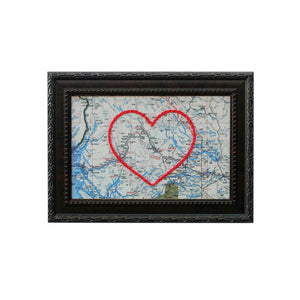 Smithers, BC Heart Map