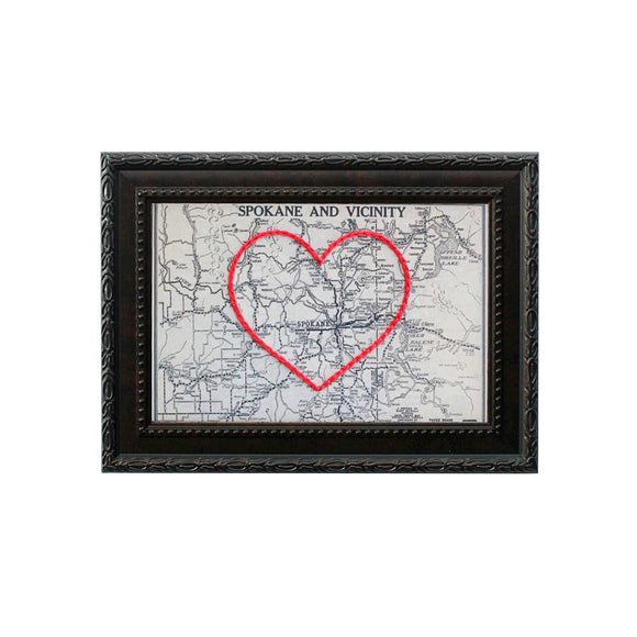Spokane Heart Map