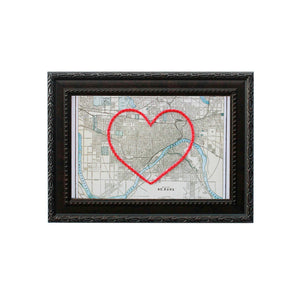 St. Paul Heart Map