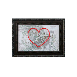 St. Petersburg Heart Map
