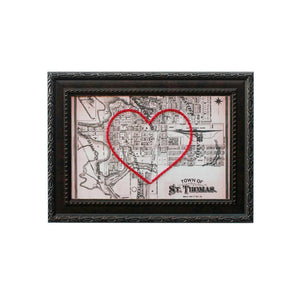 St. Thomas Heart Map