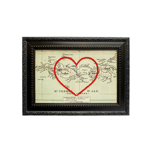 St. Thomas and St. John Heart Map