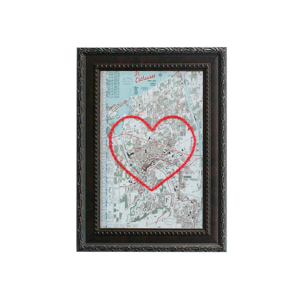 St. Catharines Heart Map