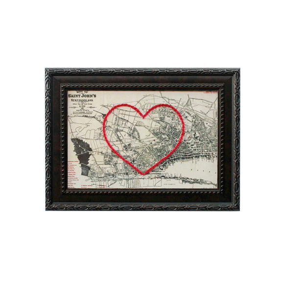 St. John's Heart Map