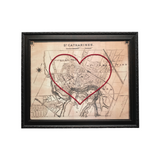 St. Catharines Heart Map - 8x10
