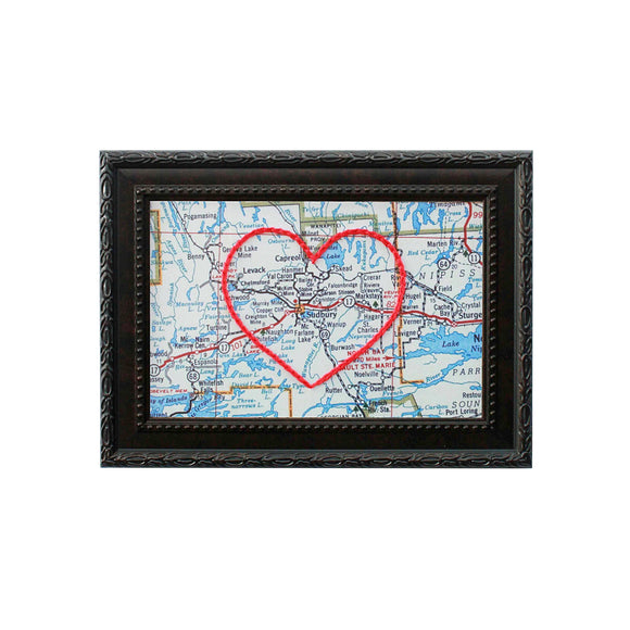Sudbury Heart Map