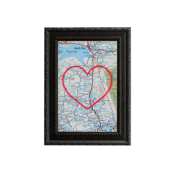 Sundridge, Ontario Heart Map