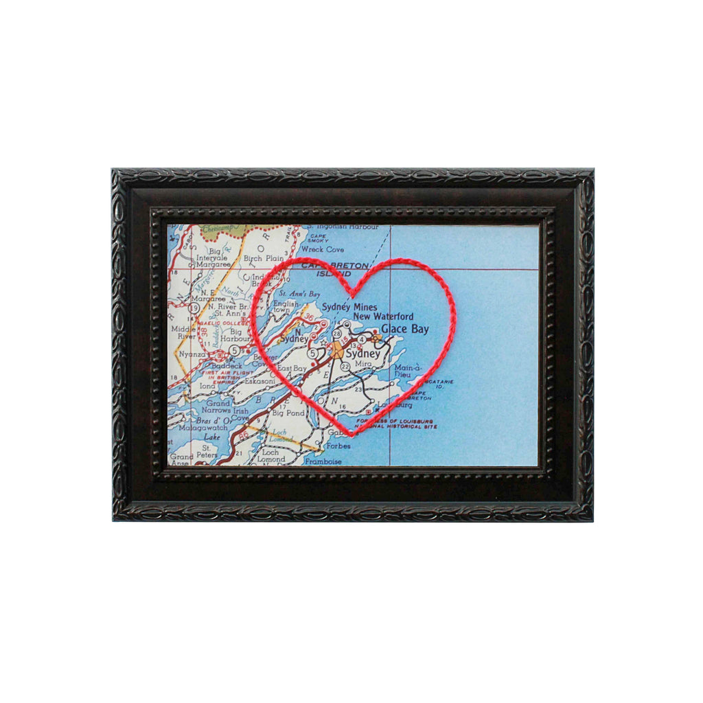 Sydney, Nova Scotia Heart Map