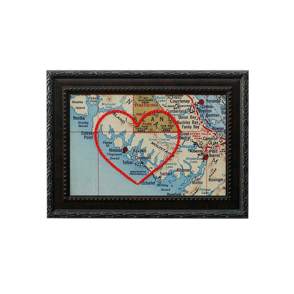 Tofino Heart Map
