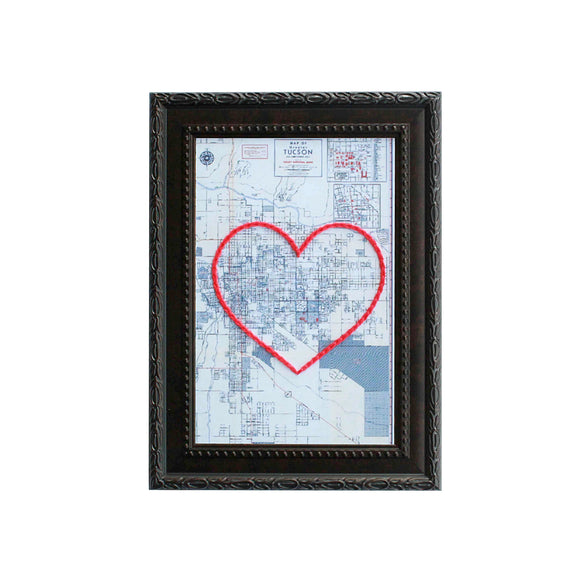 Tucson Heart Map
