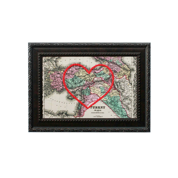 Turkey Heart Map