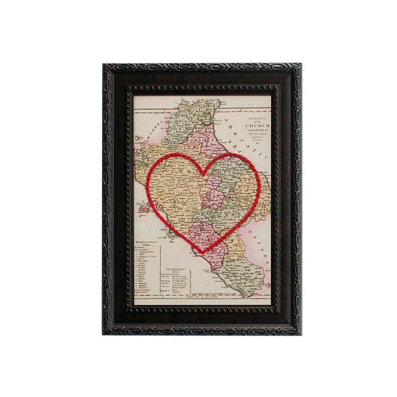 Tuscany Area Heart Map