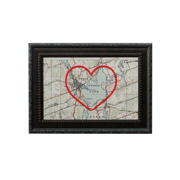 Tweed Heart Map