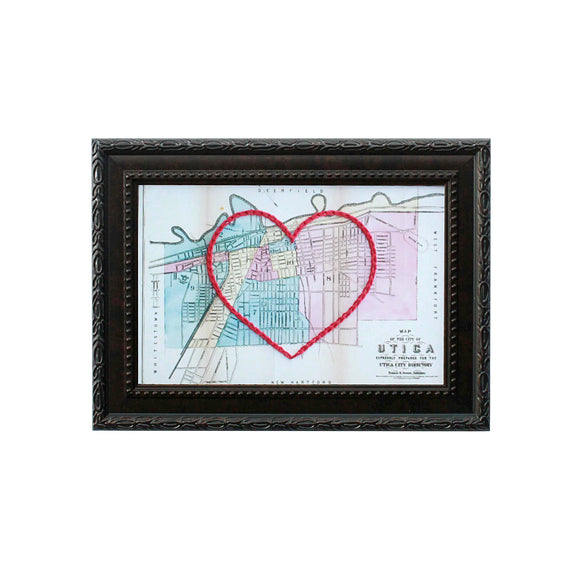 Utica Heart Map