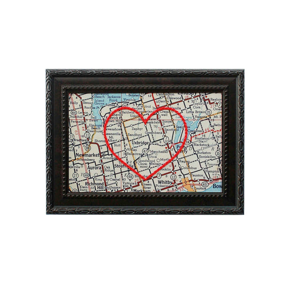 Uxbridge Heart Map