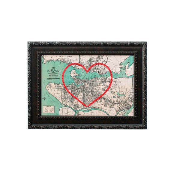 Vancouver Heart Map