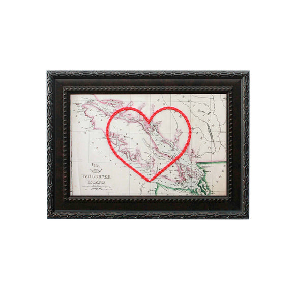Vancouver Island Heart Map