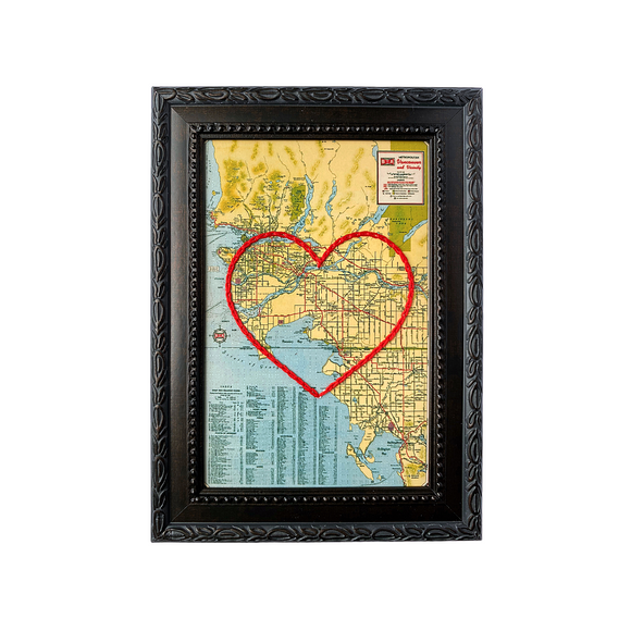 Vancouver Metro Area Heart Map