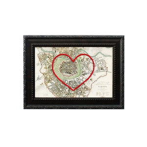 Vienna Heart Map