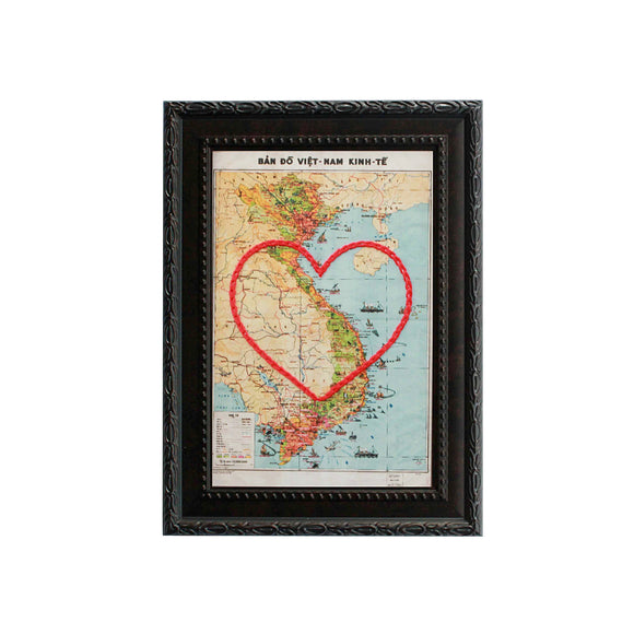 Vietnam Heart Map