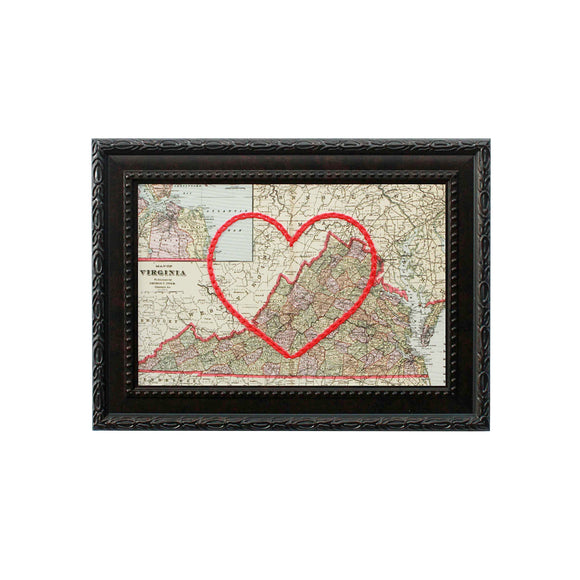 Virginia Heart Map