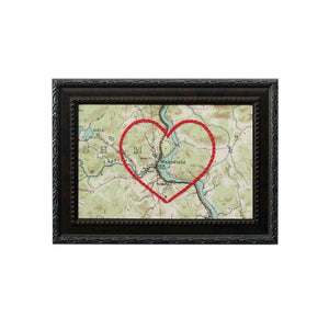 Wakefield, QC Heart Map