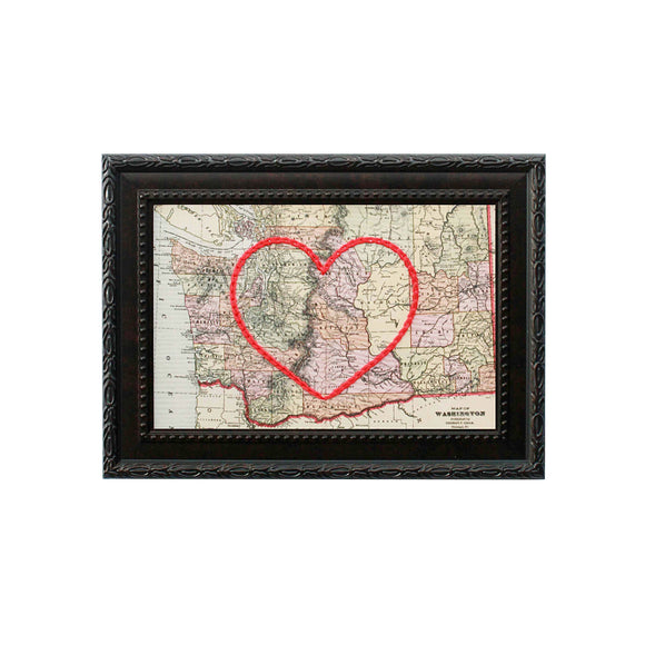 Washington Heart Map