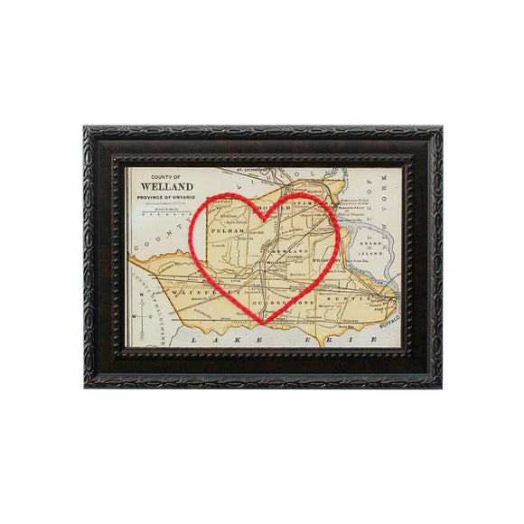 Welland County Heart Map