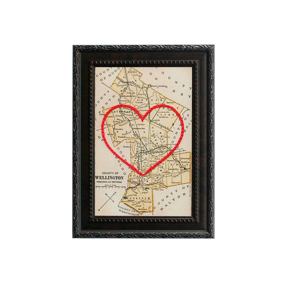 Wellington County Heart Map