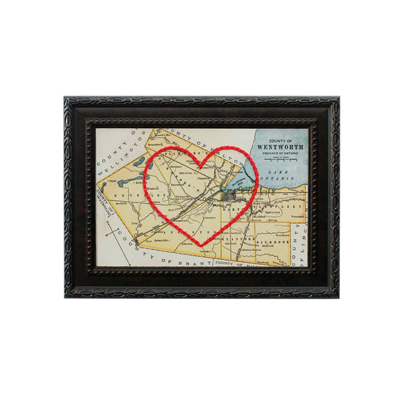 Wentworth County Heart Map