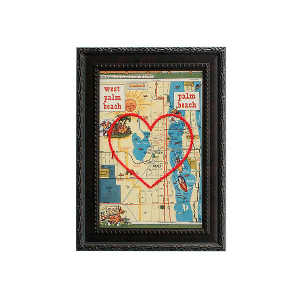 West Palm Beach Heart Map