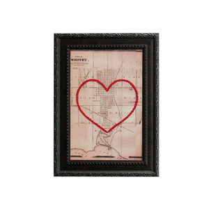Whitby Heart Map