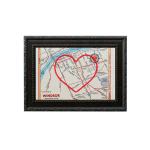 Windsor Heart Map