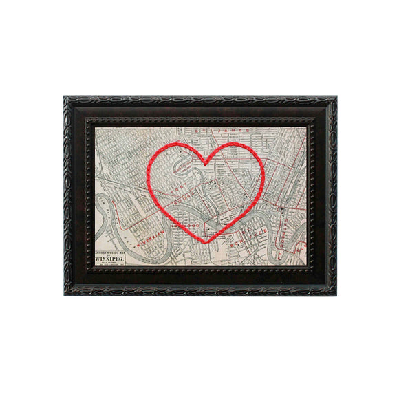 Winnipeg Heart Map