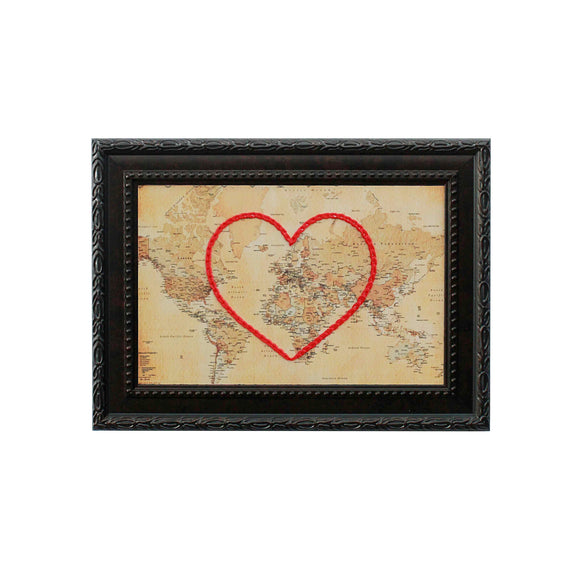 World Heart Map