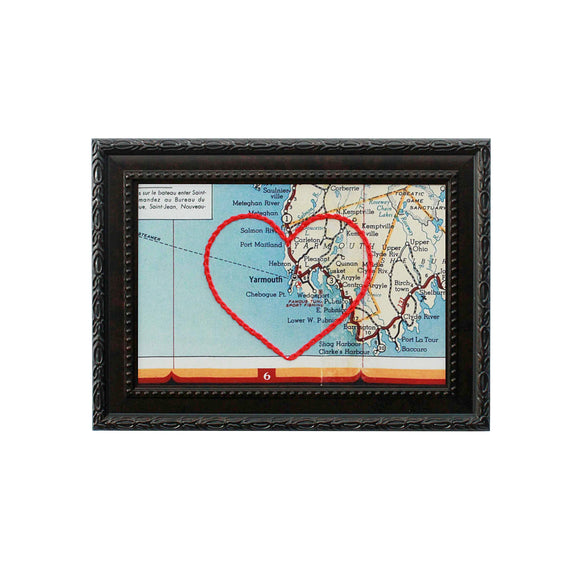 Yarmouth Heart Map