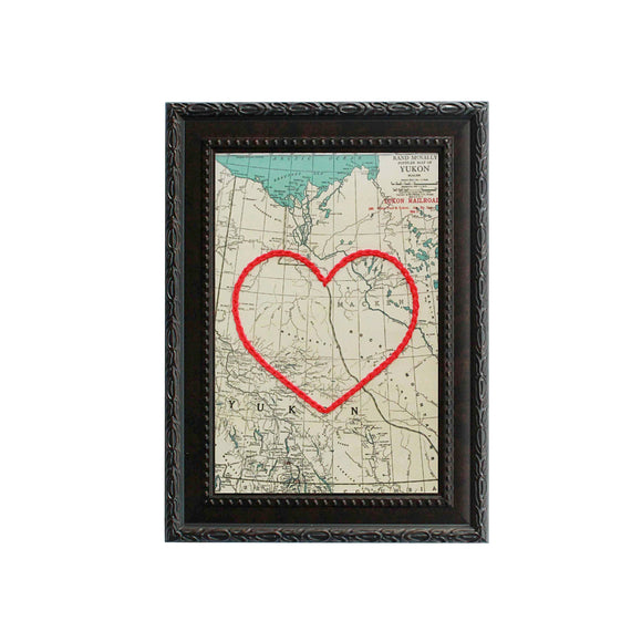 Yukon Heart Map