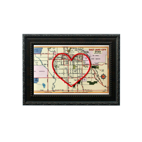 Salt Lake City Heart Map