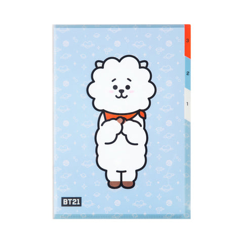 BT21 3-POCKET PP FOLDER