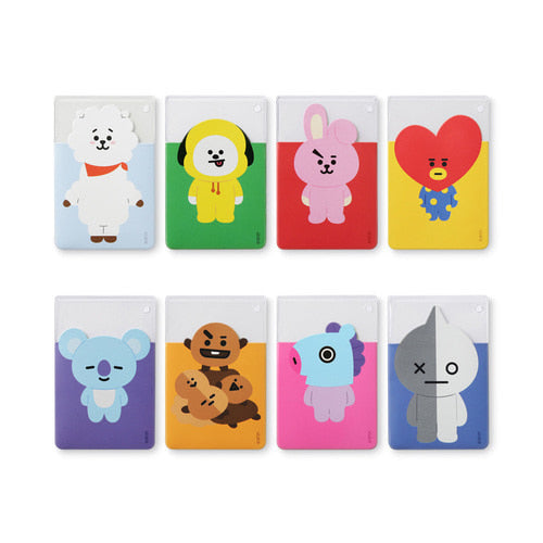 BT21 CLEAR CARD CASE