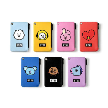 BT21 STRAP CARD HOLDER