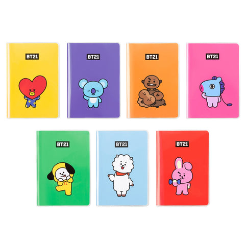 BT21 POCKET NOTE