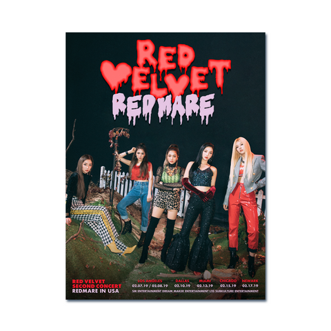 [REDMARE] in USA Poster