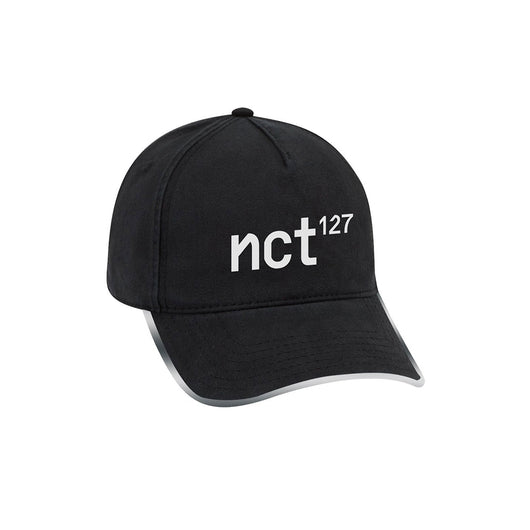 NCT 127 Regular-Irregular Black Dad Hat with Long Strap