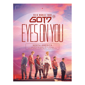 GOT7 'EYES ON YOU' POSTER