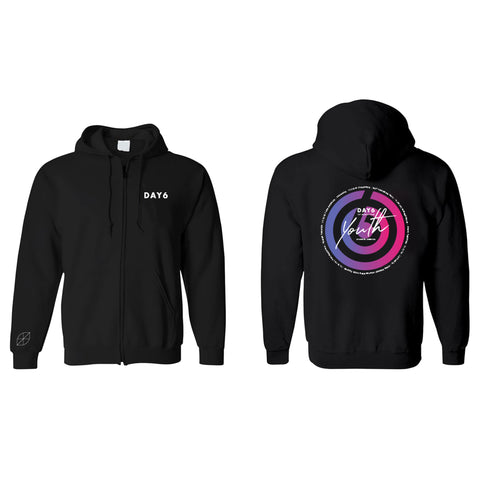 DAY6 1ST WORLD TOUR 'YOUTH' ZIP-UP HOODIE