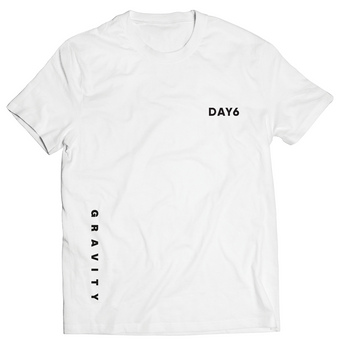 DAY6 'GRAVITY' T-SHIRT WHITE *ONLINE ONLY*