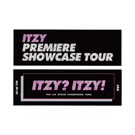 'ITZY? ITZY!' SHOWCASE TOUR OFFICIAL SLOGAN