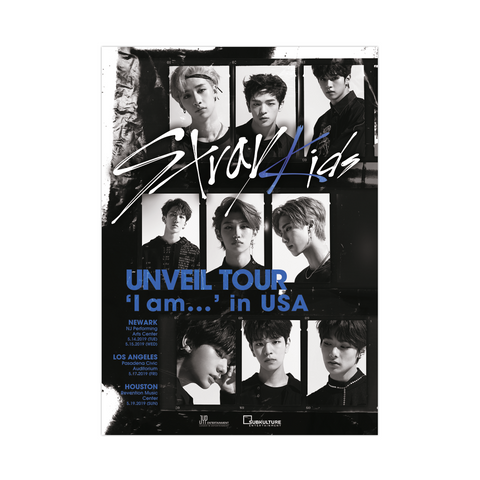 UNVEIL TOUR in USA Poster