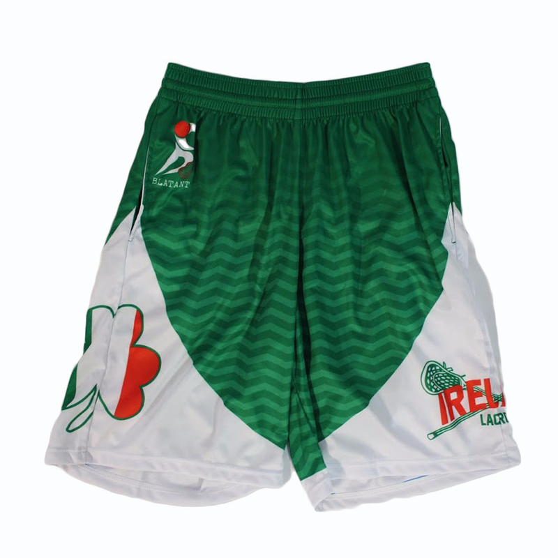 Heritage Collection: Ireland Lacrosse Shorts